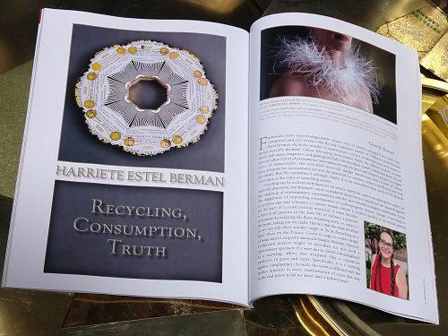 An open magazine