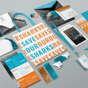 Brand Collateral | Save Our Sharks (2020)