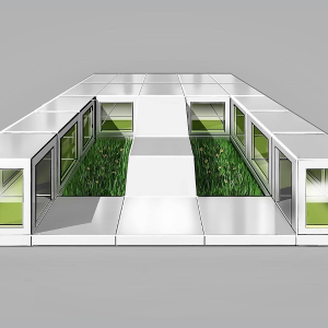 Collaborative Space with Greenspace for Office Use