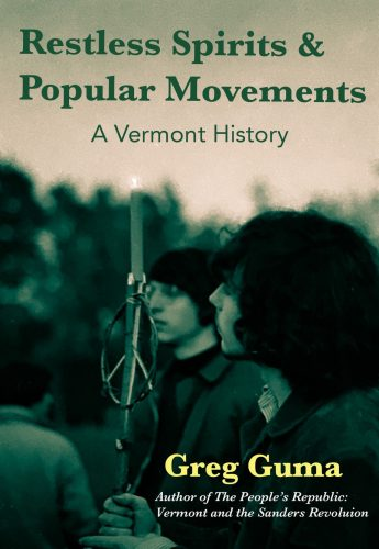 A book cover for Restless Spirits and Popular Movements: A Vermont History