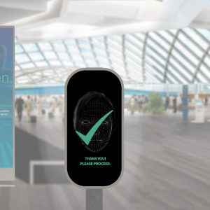 Biometrics technology used to verify passenger identity