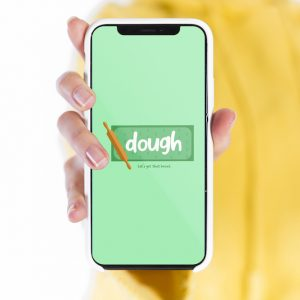 "Opening Screen & ""dough"" Logo"