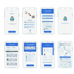 Full Screens of App
