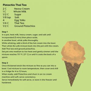 Pistachio Thai Tea