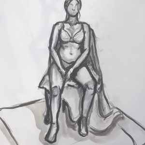 Kayla Tomlin | Figure drawing