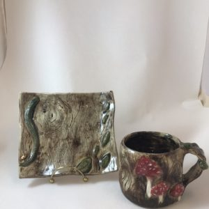Kelley McCarthy | Forrest mug and plate
