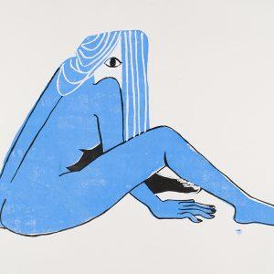 Student illustration work.