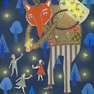 Marisa Rother│Fox- Student illustration work.