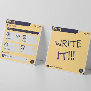 "Flexible electronic post-it note called ""dNote"" prototype 2"