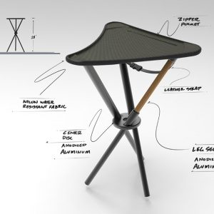 Camping Stool Design