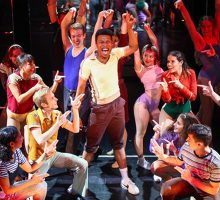 Students perform 'A Chorus Line'